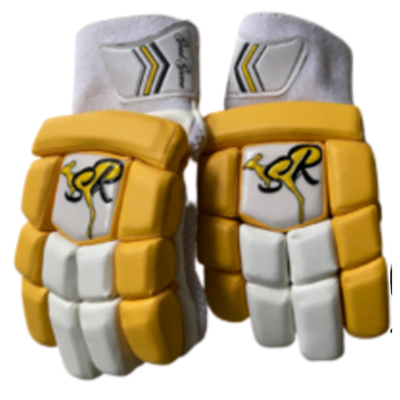 SR Junior Yellow Batting Gloves