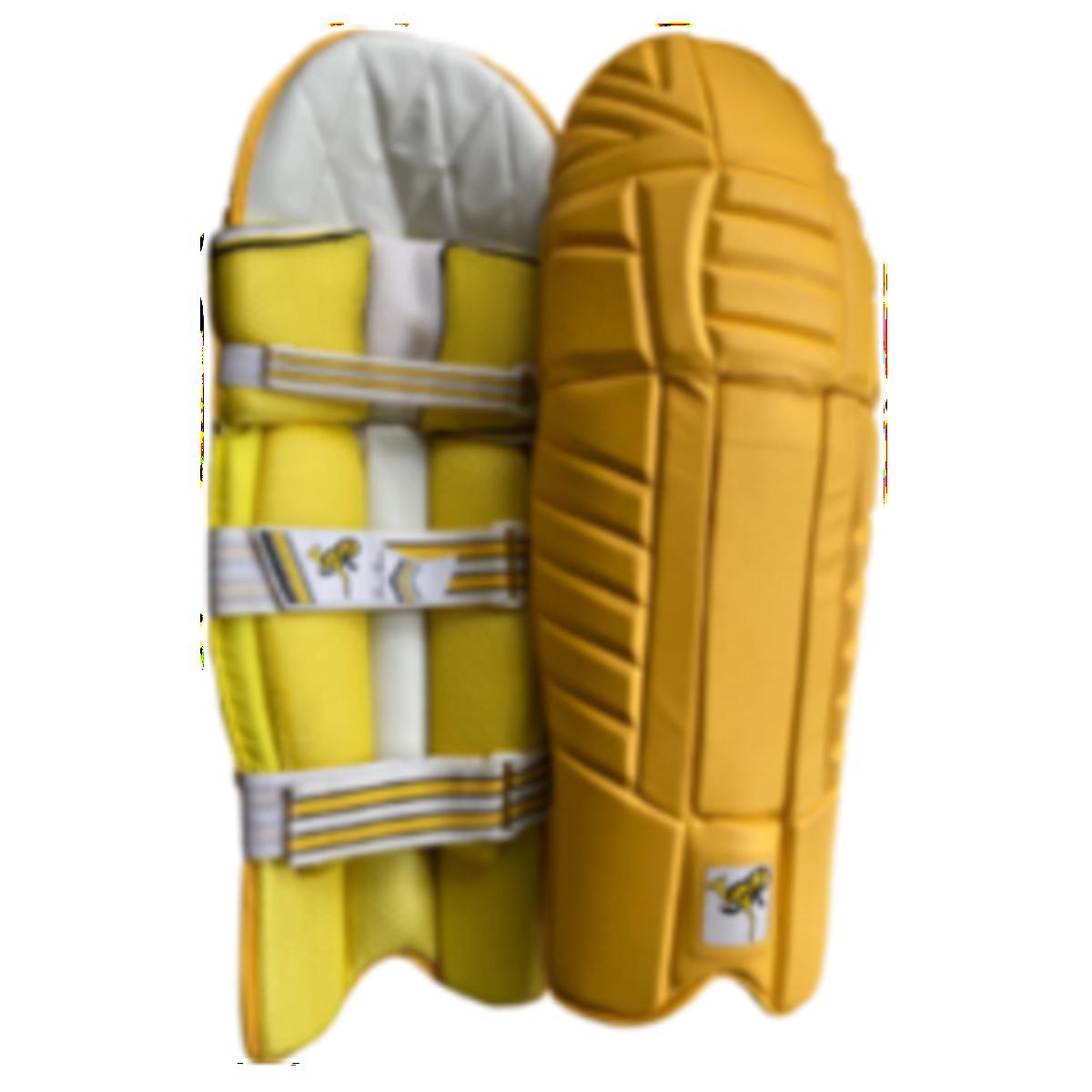 SR Yellow Batting Pads (Ambidextrous)